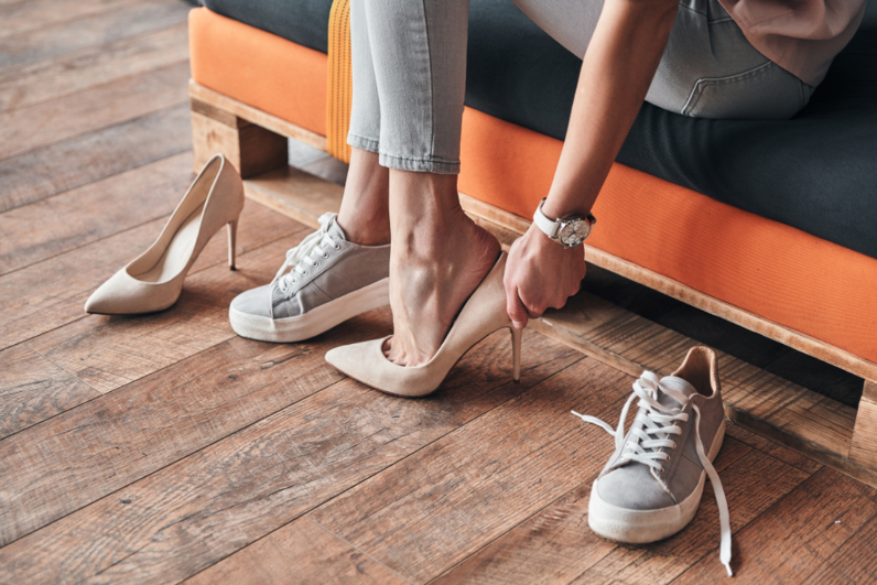 Get the best shoe fit when buying women's shoes at Family Footwear Center