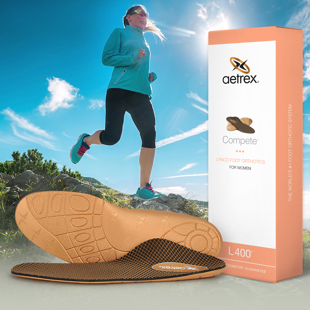 Aetrex Lynco foot orthotics