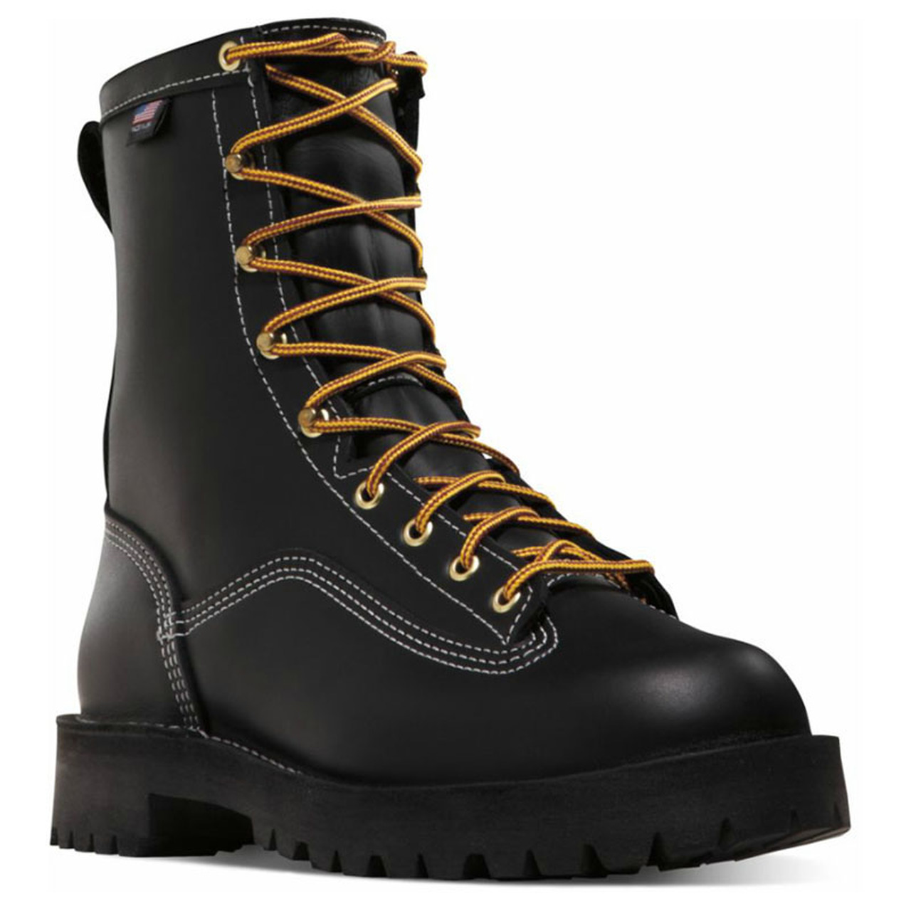 Danner Super Rain Forest Boots are USA Made Berry Compliant and have an extra layer of leather on their toes and Insteps