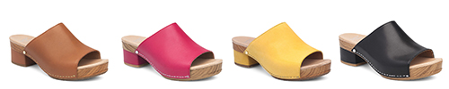 Dansko Maci Sandals come in a nice array of colors!
