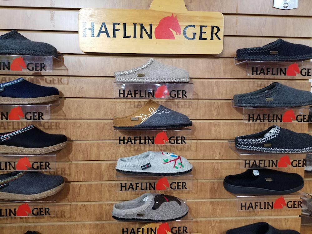 Find slip-resistant Haflinger clogs and slippers at Family Footwear Center