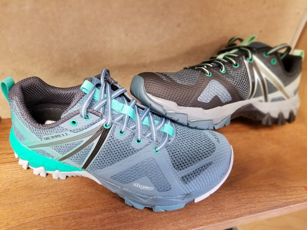 Merrell makes great trail running shoes