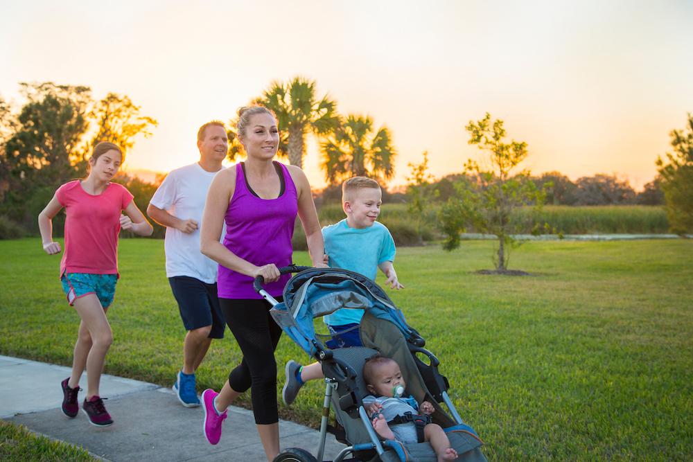 Do you enjoy running on grass, sidewalks or forest trails?
